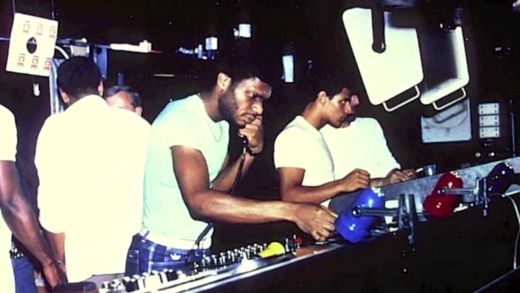 Larry Levan DJing at Paradise Garage