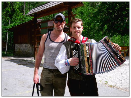 Me and Accordion Boy, Kamnik Alps