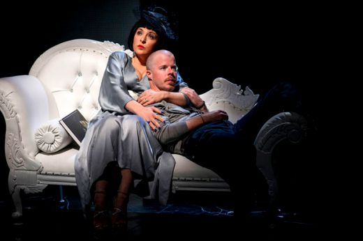 Tracy-Ann Oberman as Isabella Blow and Stephen Wight
