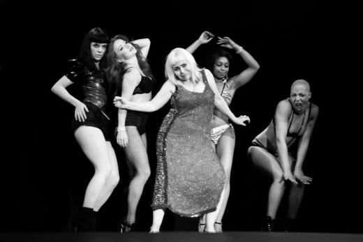 Penny and her dancers