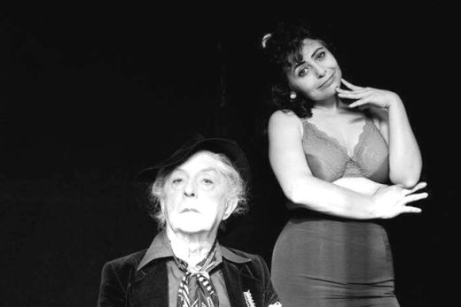 Quentin Crisp and Penny Arcade