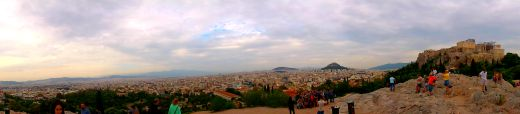 The Acropolis from Areopagus Hill