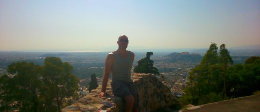 View of the Acropolis from Mount Lycabettus