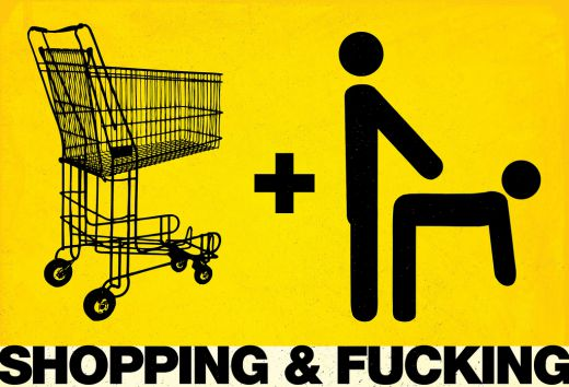 Shopping and Fucking publicity poster