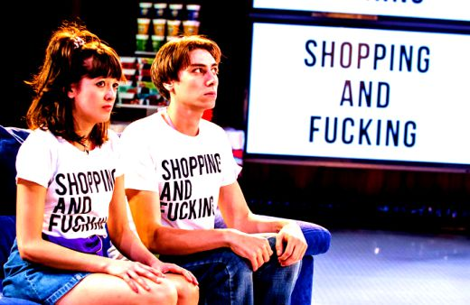 Sophie Wu as Lulu and Alex Arnold in Shopping and Fucking