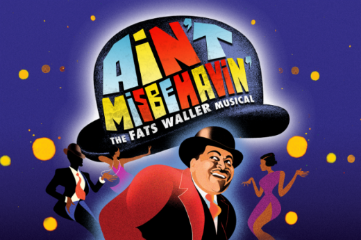 Ain't Misbehavin' poster for Mercury Theatre production at Southwark Playhouse.