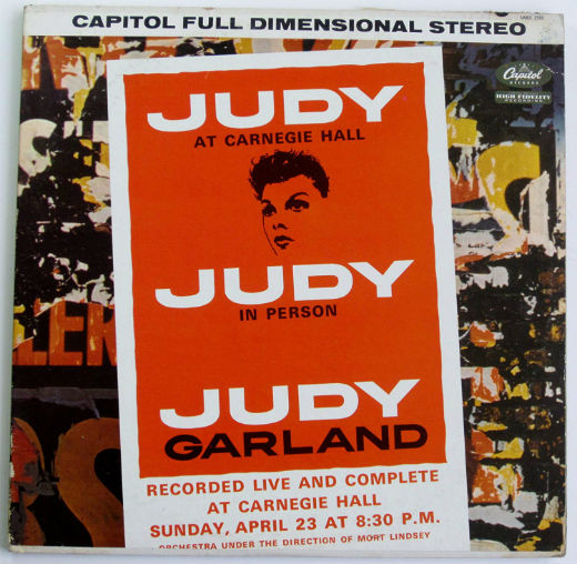 Judy Live at Carnegie Hall poster