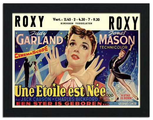 A Star is Born, Judy Garland, Movie Poster
