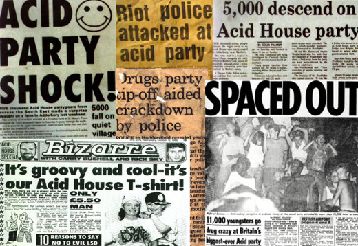 acid house headlines