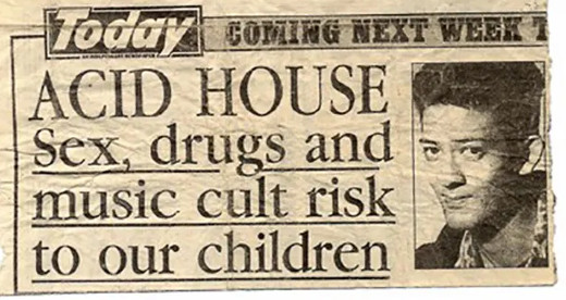 Acid House headline