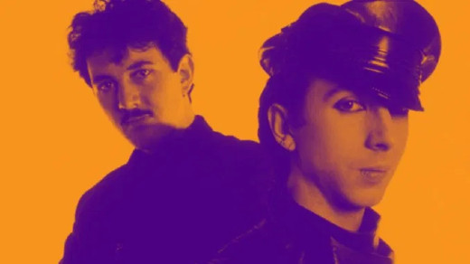 Soft Cell Marc Almond and David Ball